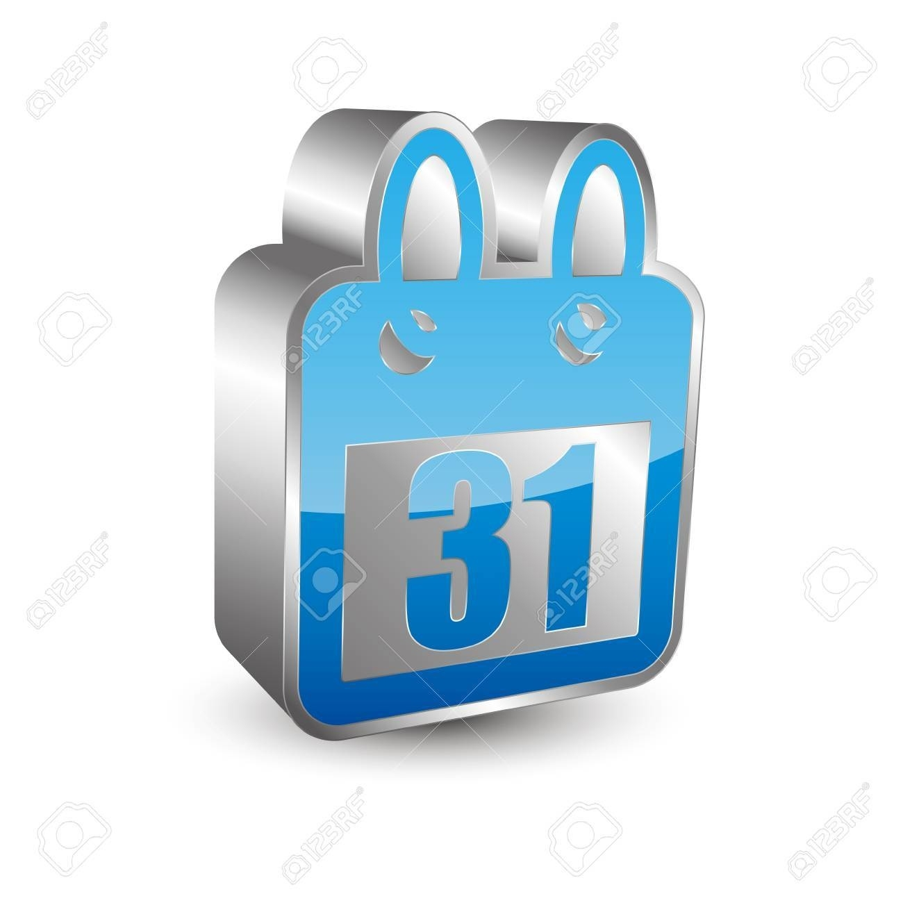 3D Calendar Icon Royalty Free Cliparts, Vectors, And Stock 3D Calendar Icon Vector