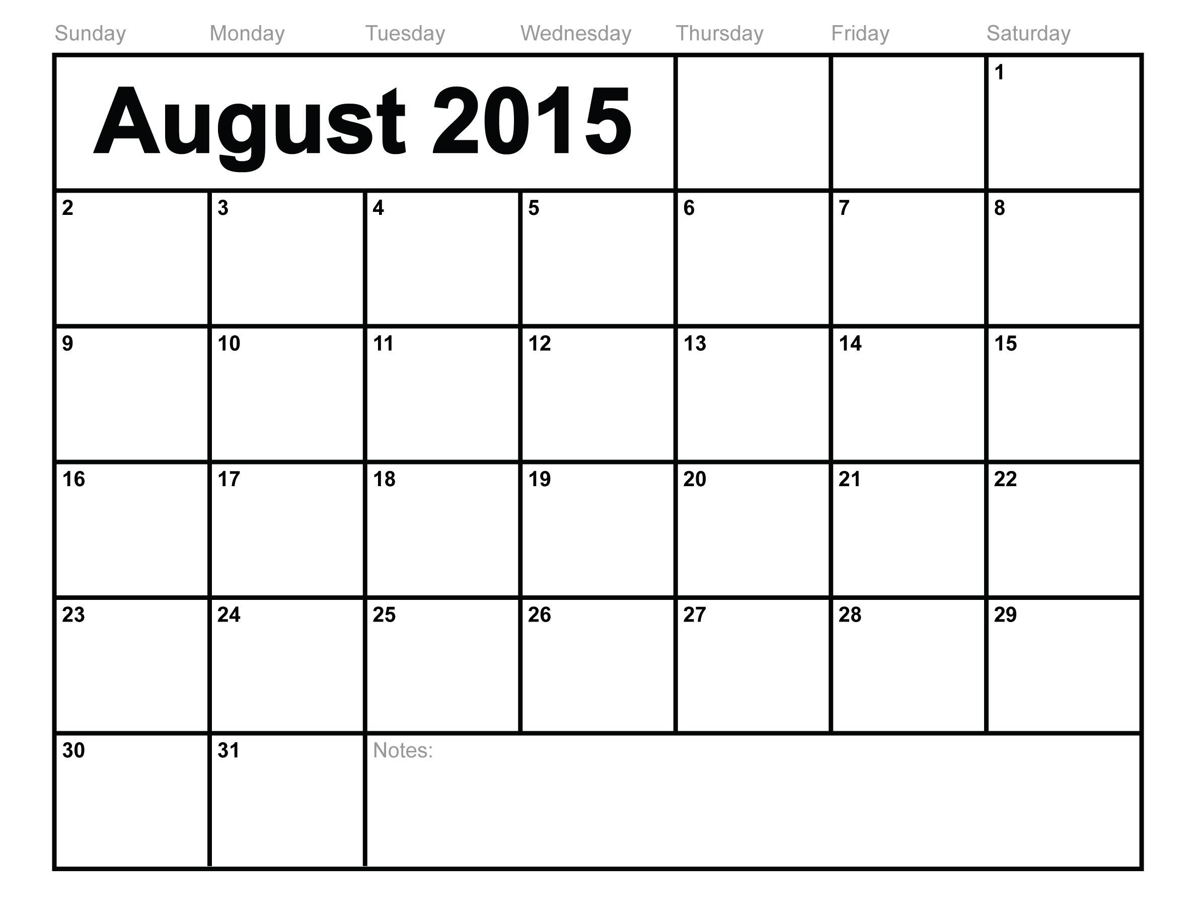 August 2018 Calendar Printable - Printable Calendar & Birthday Cards Free Printable 1 Month Calendar