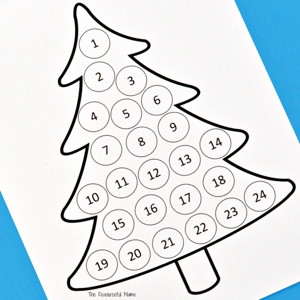 Countdown Calendar To Christmas Printable | Printable Christmas Countdown Calendar To Christmas Printable