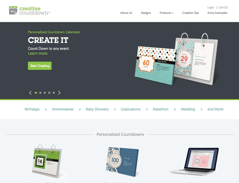 Creative Countdown | Creative Countdown Calendars Countdown Calendar Weekdays Only