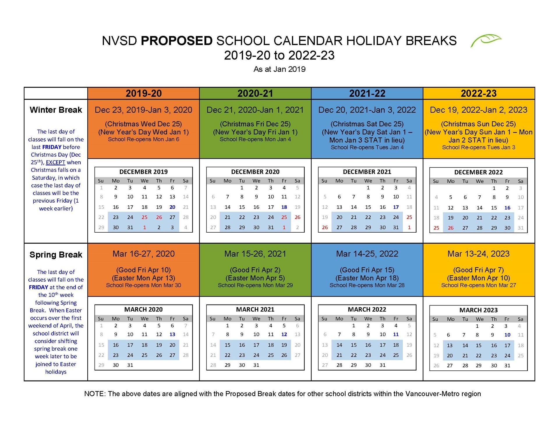 Vancouver School District Calendar 2020 Perky Calendar Vancouver School District • Printable Blank