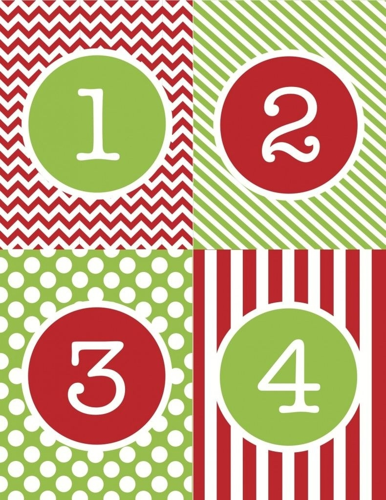 Free Printable… An Advent Calendar Just In Time For December 1St Countdown Calendar To Christmas Printable