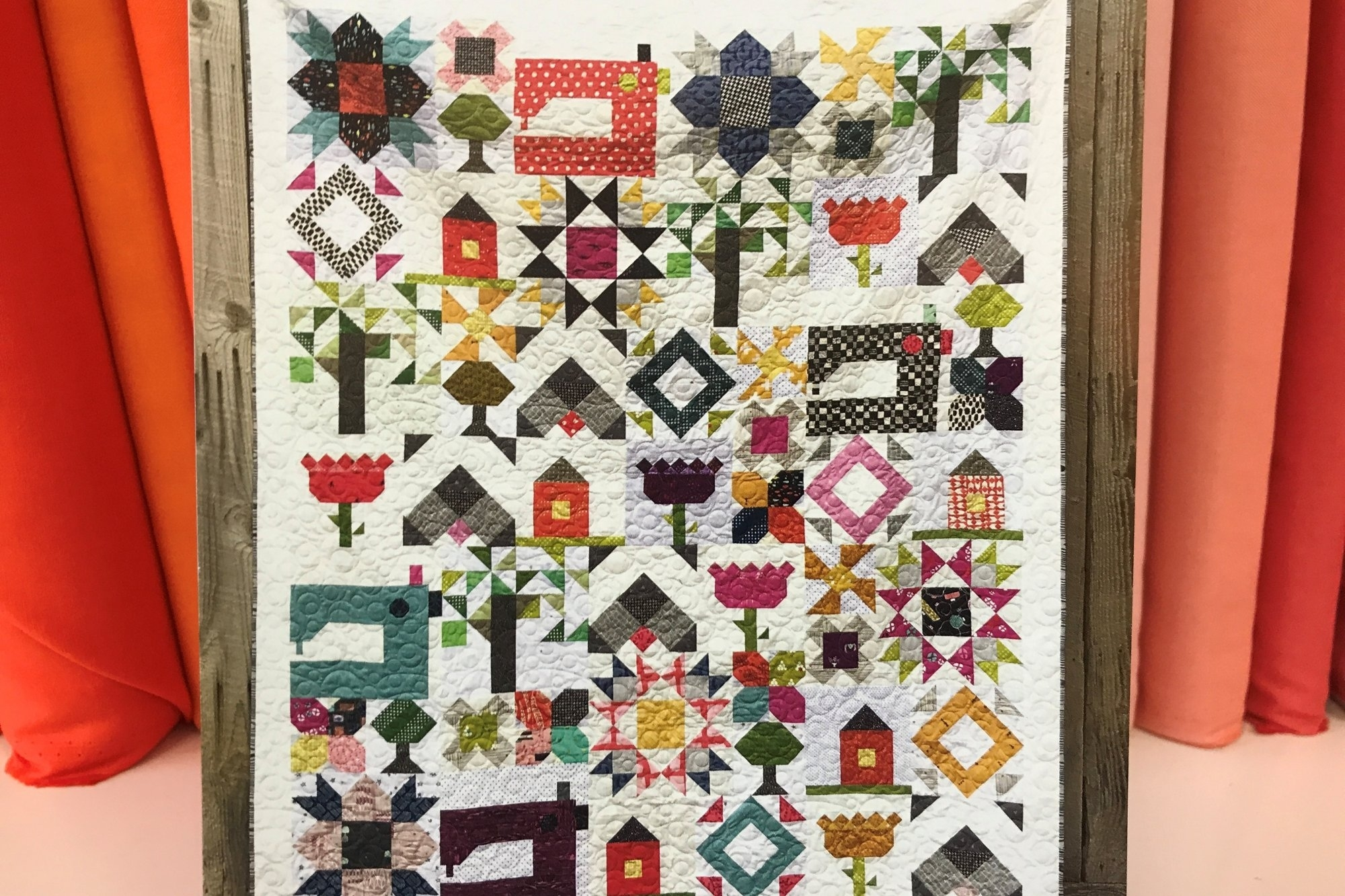Heartland Heritage Block Of The Month - Registration Monthly Calendar Quilt Patterns
