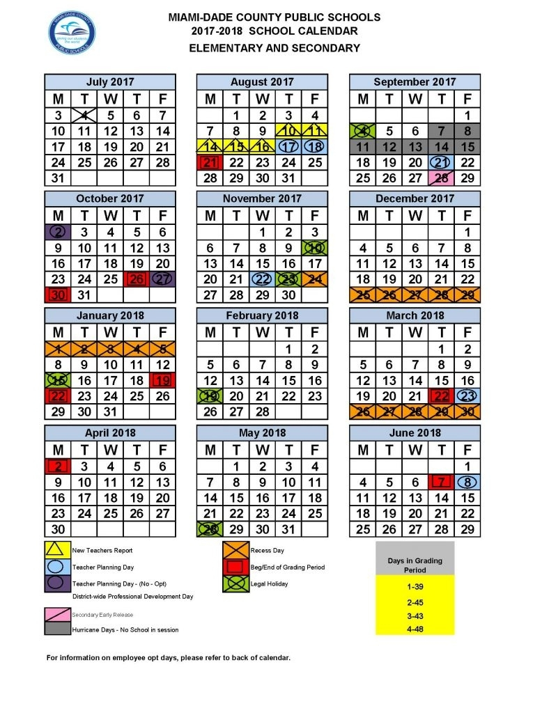 Calendario Escolar 2020 Miami Dade.My Friends Told Me About You Guide School Calendar 2019 20