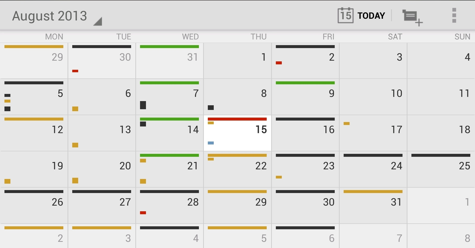12 Of The Best Calendar Apps Available For Your Android Smartphone Calendar Month To View