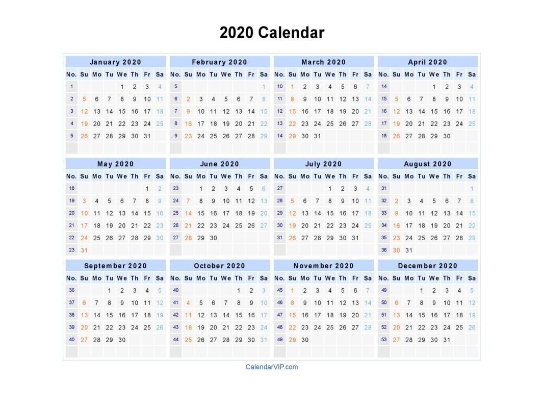 2020 Calendar Printable | Business Templates | Calendar 2019 Exceptional 2020 Excel Calendar Canada