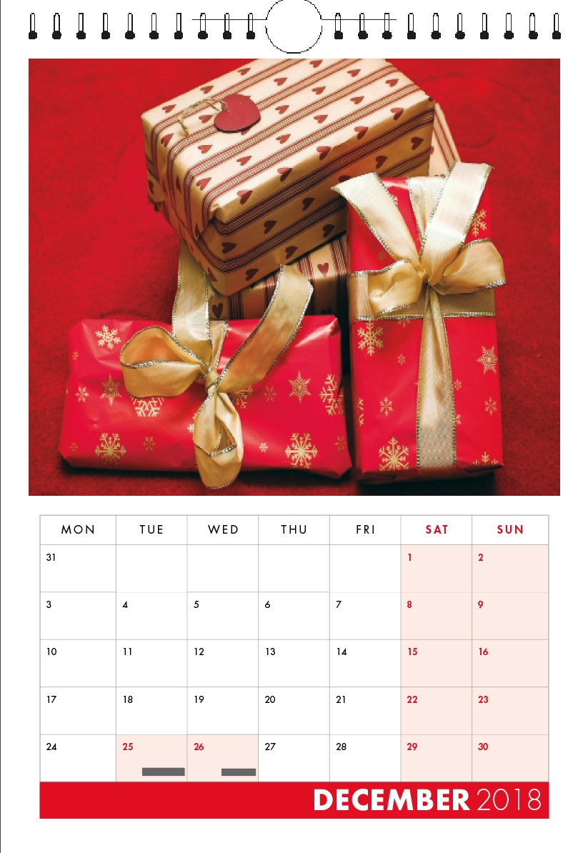 2020 Personalised Calendar Printing | Charity Photo Calendar Calendar Printing For Charity