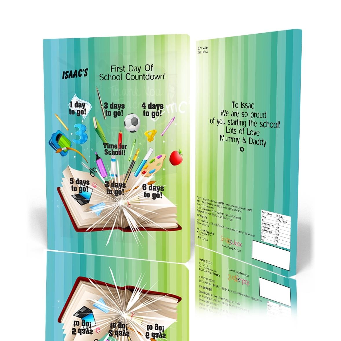 7 Day Calendar - School Countdown - Snapajack 7 Day Countdown Calendar