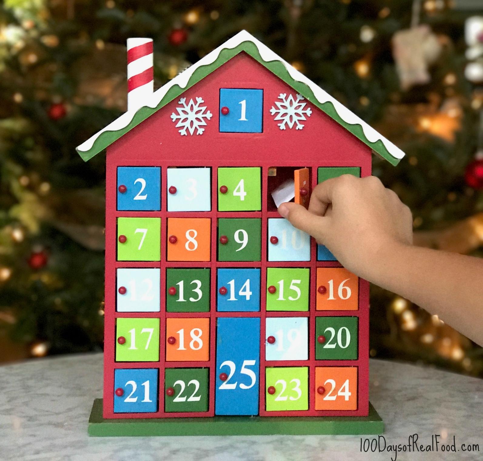 Christmas Countdown Calendar 100 Days • Printable Blank ...