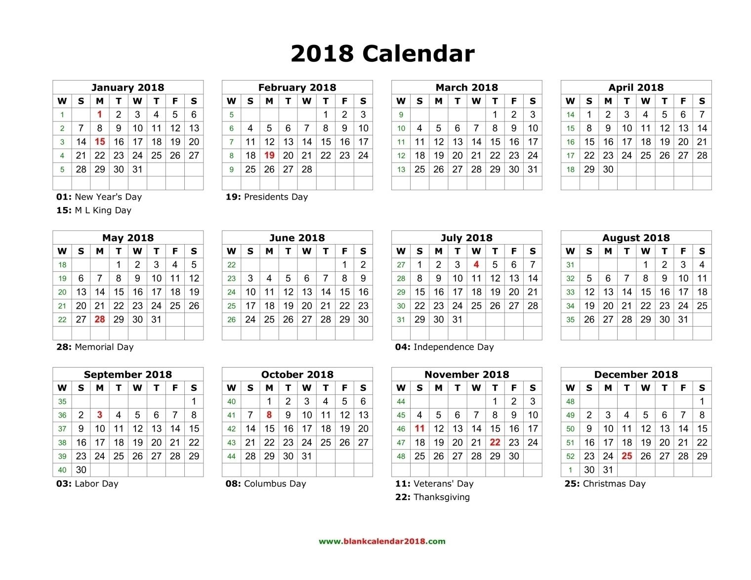 Blank Calendar 2018 Exceptional Blank Calendar Month View