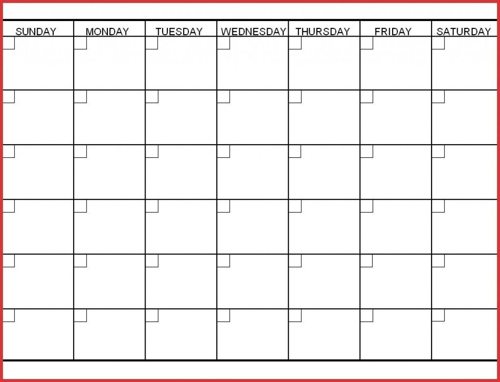 Blank Calendar Print Outs Printable Template Inside 6 Week Regarding Incredible Blank Calendar Template 6 Weeks