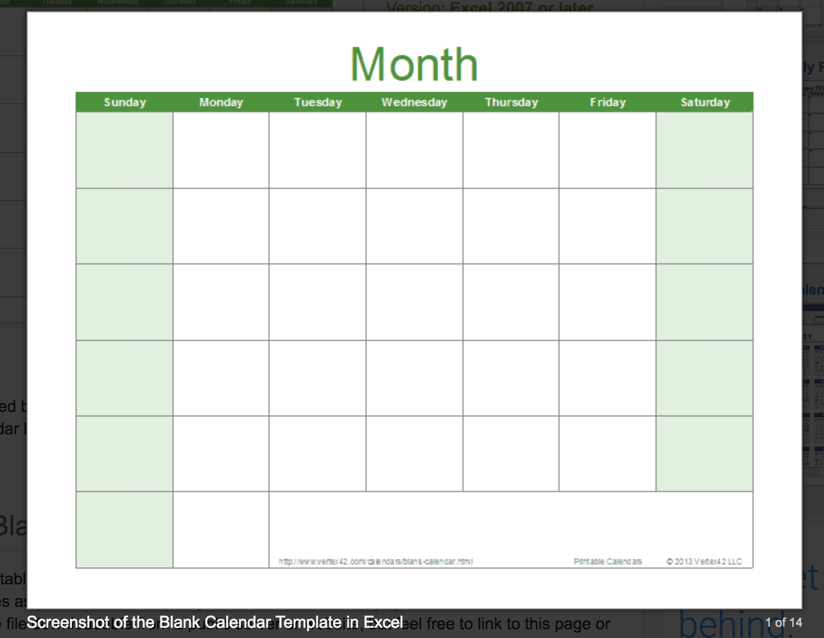 Blank Calendar: Wonderfully Printable 2019 Templates Calendar Template By Vertex42