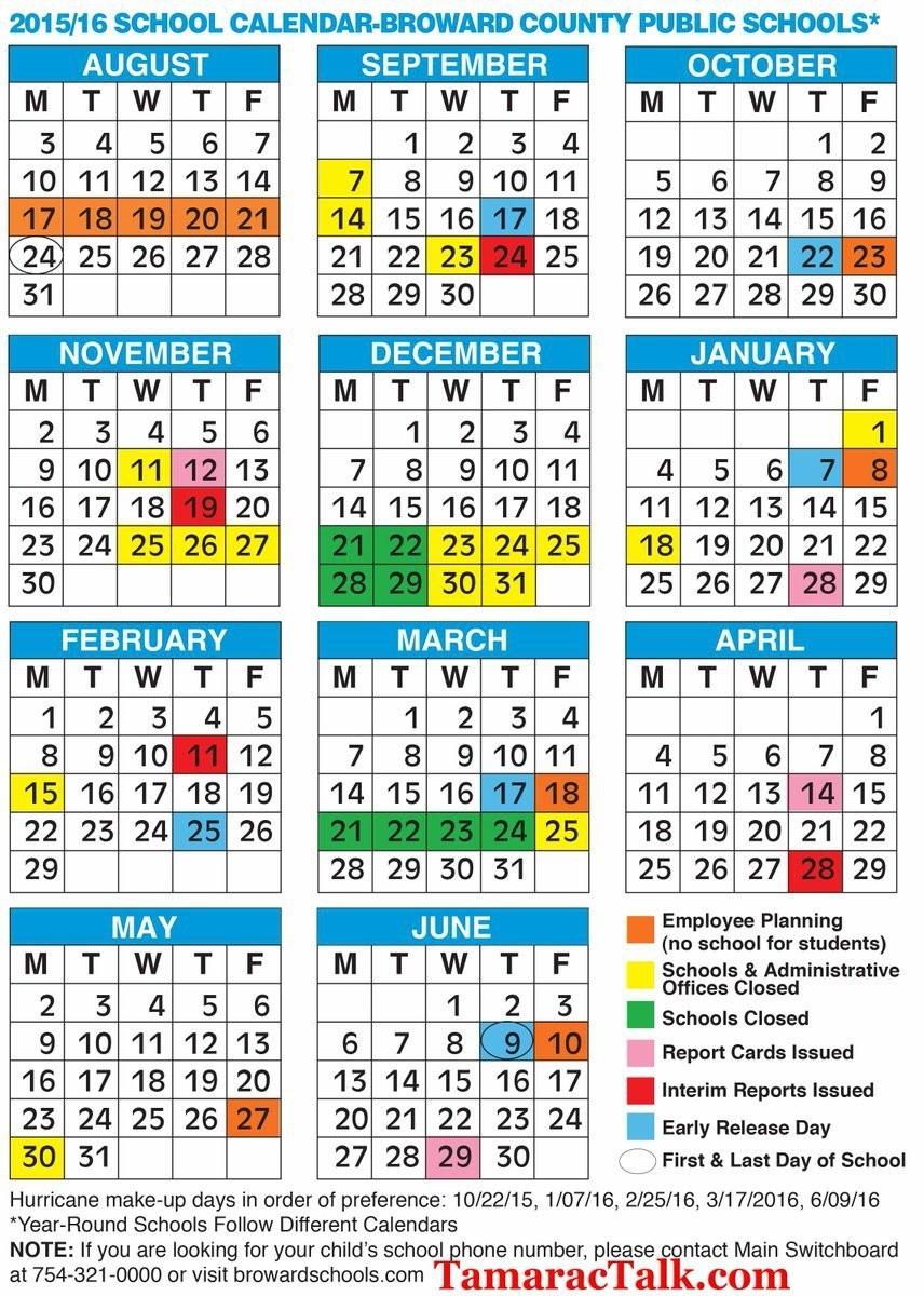 Broward County School Calendar 2018 Jt1Q – Color.alima Exceptional School Calendar In Broward County
