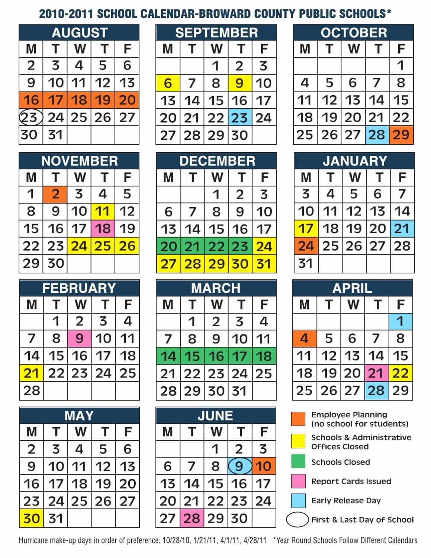 Broward County School Calendar Broward Schools Calendar 2018 School Calendar In Broward County