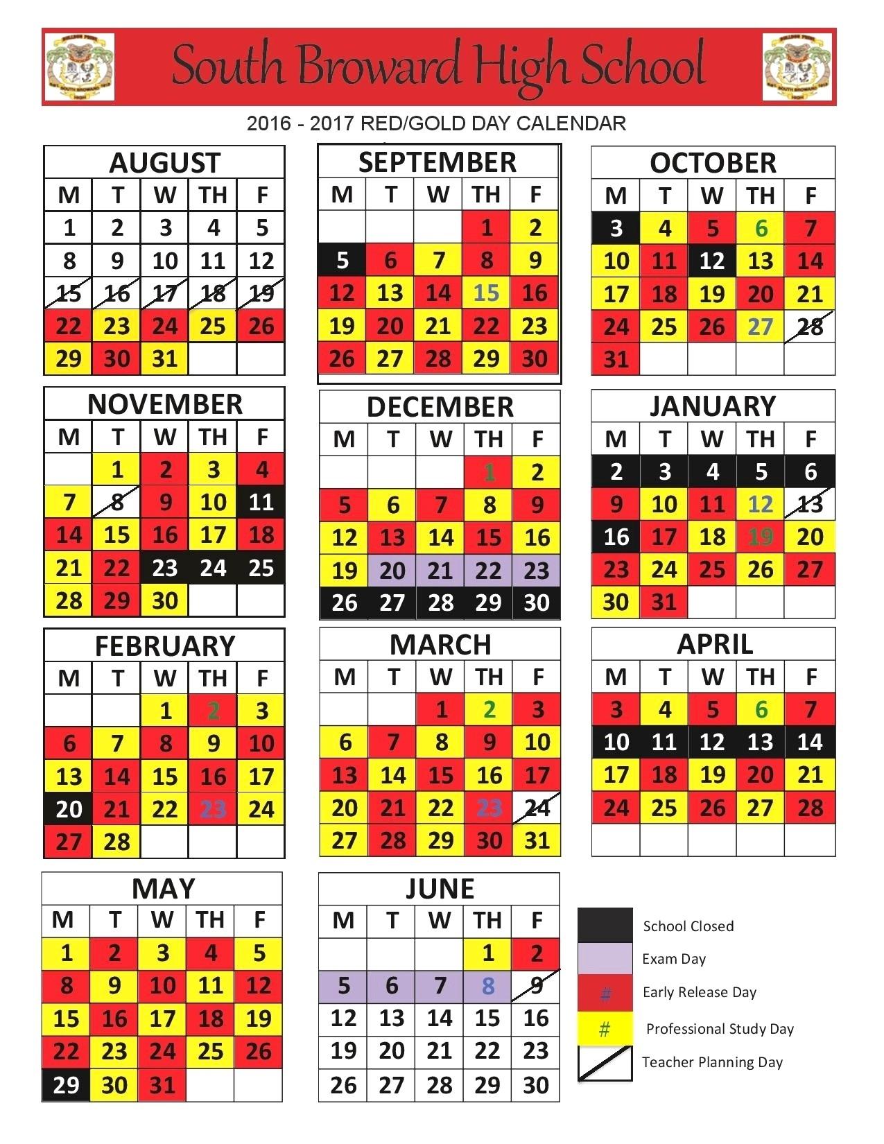Broward School Calendar | Jcreview School Calendar In Broward County