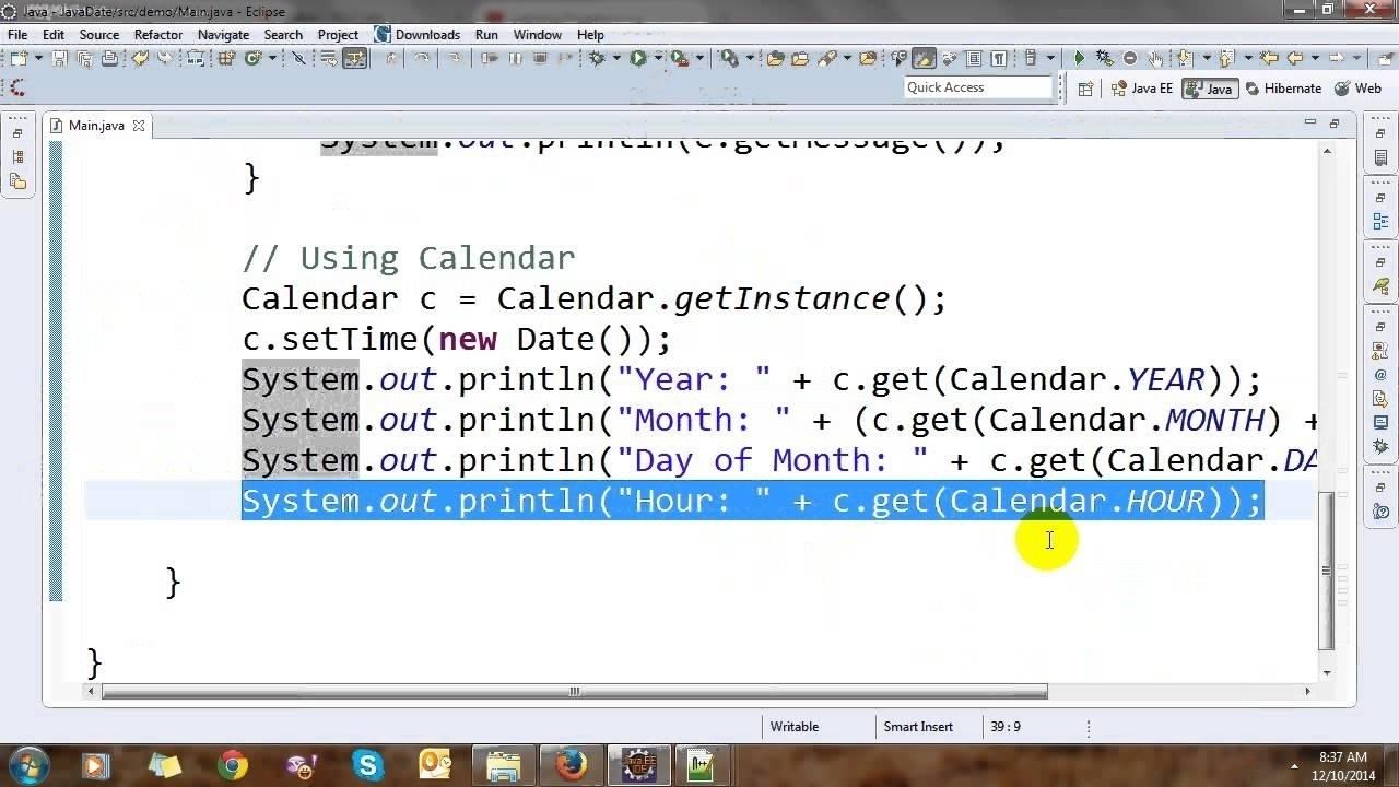 Calendar Month Program In Java • Printable Blank Calendar Template Calendar Get Month Java