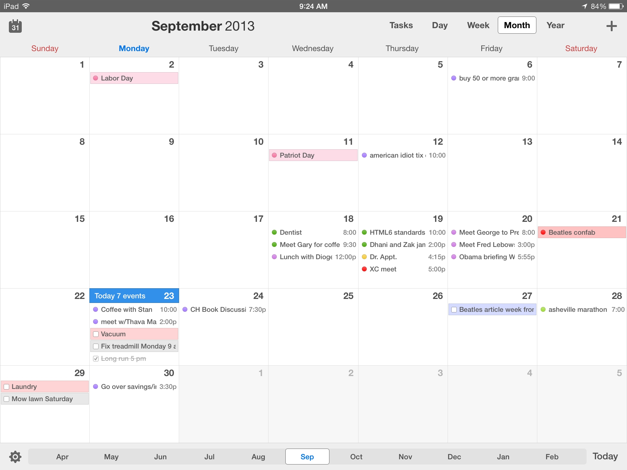 Calendars 5 For Ios Review: Better Than Calendar On All Your Devices Calendar Month To View