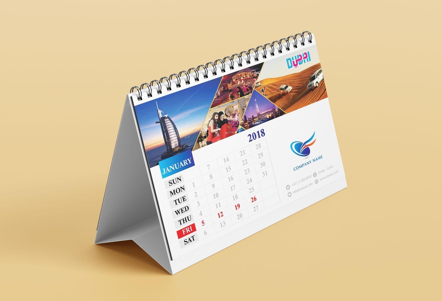 Calendars Printing In Dubai, Abu Dhabi The Calendar Printing Company
