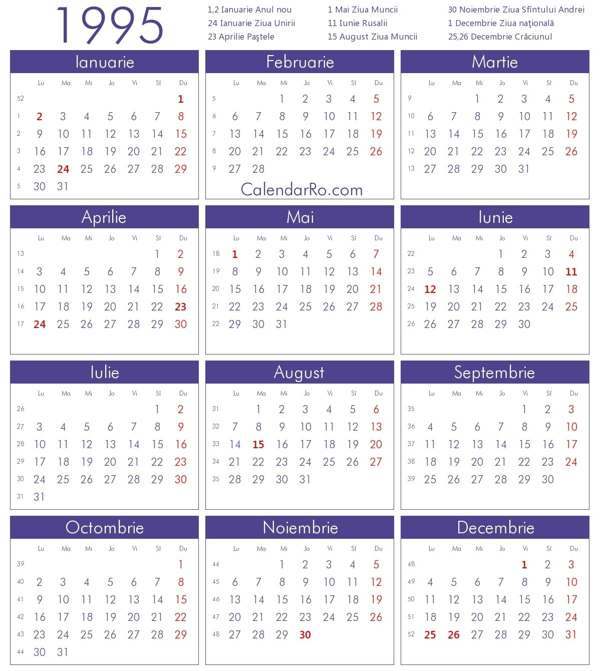 Category: Calendar 3 | Thegioithamdep Calendar 1995 Holidays India