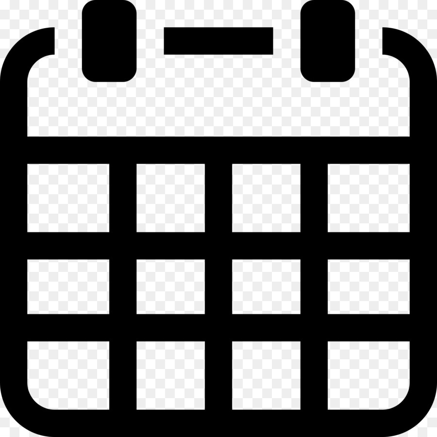 Computer Icons Calendar Clip Art - Save Vector Png Download - 2000 Calendar Icon Vector Png