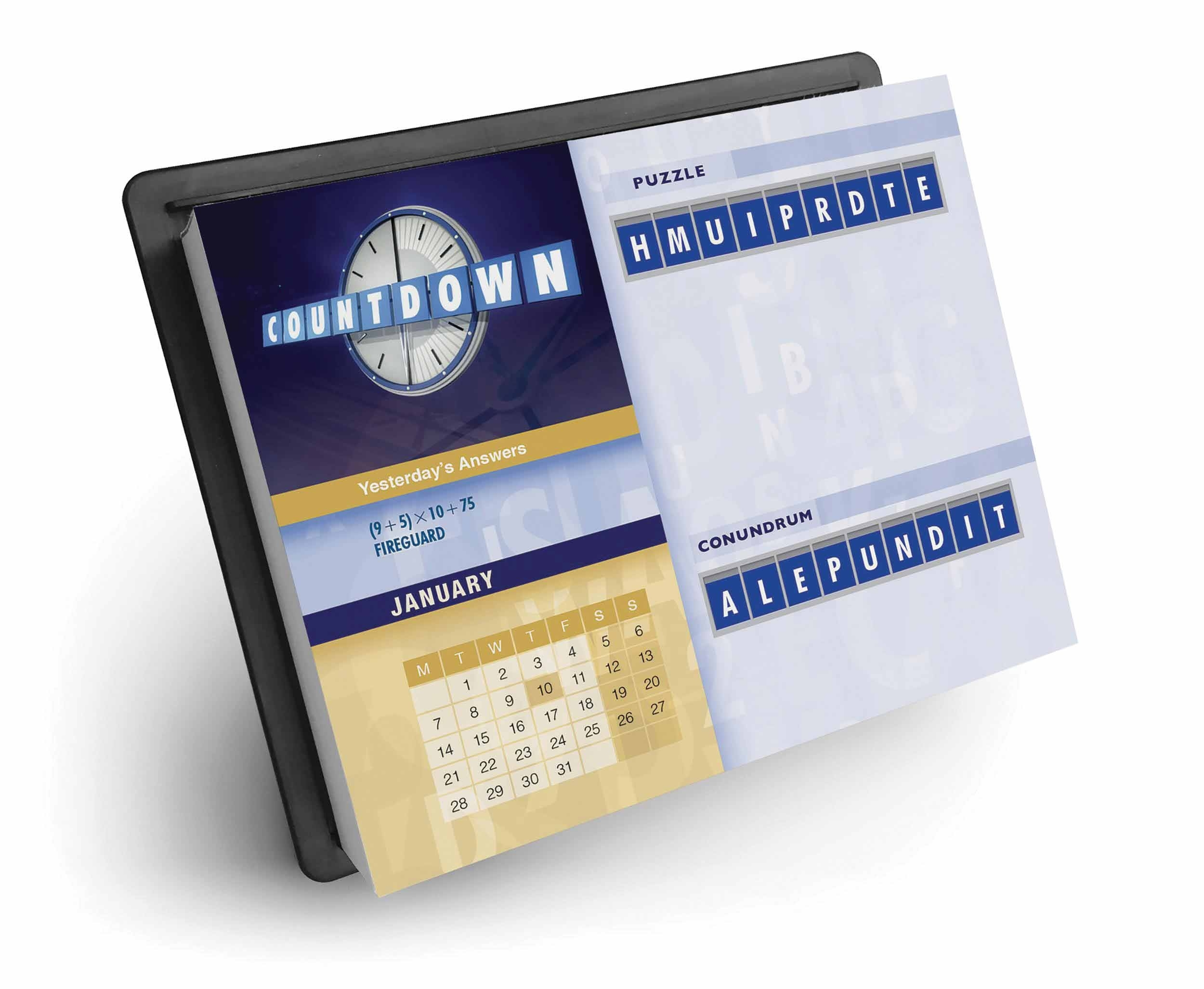 Countdown Desk Calendar 2019 - Calendar Club Uk Tear Off Countdown Calendar Uk