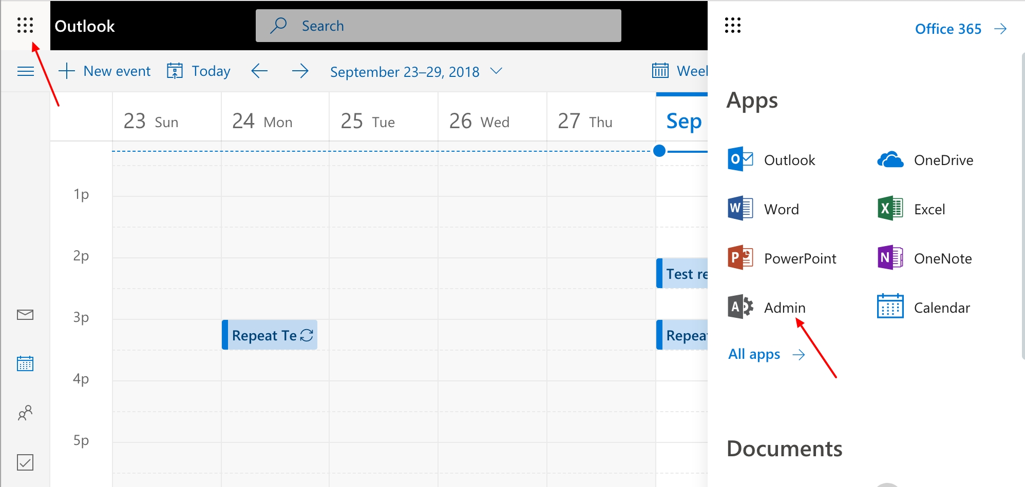 Create Meeting Room Calendars In Office 365 – Robin Help Center Printing Calendar From Office 365