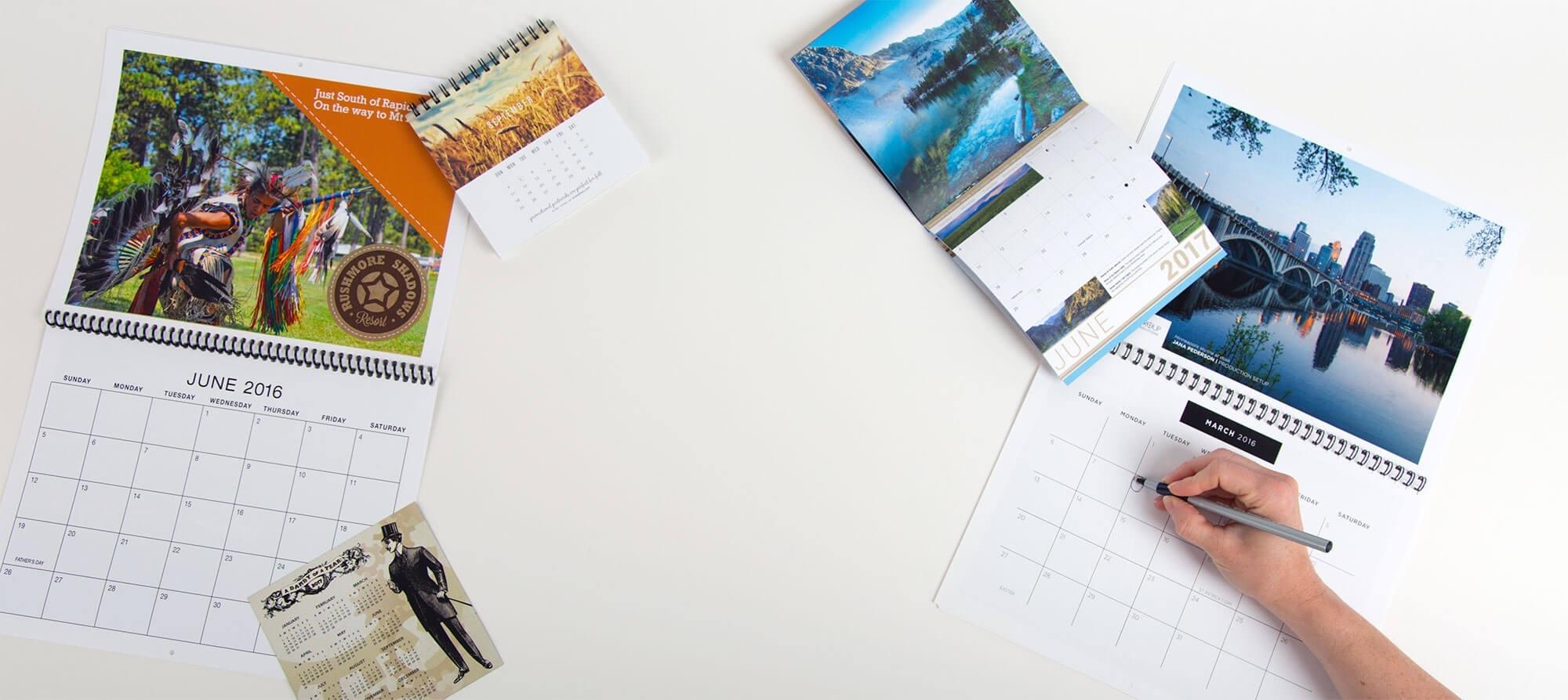 Custom Calendar Printing | Personalized Calendars | Smartpress The Calendar Printing Company