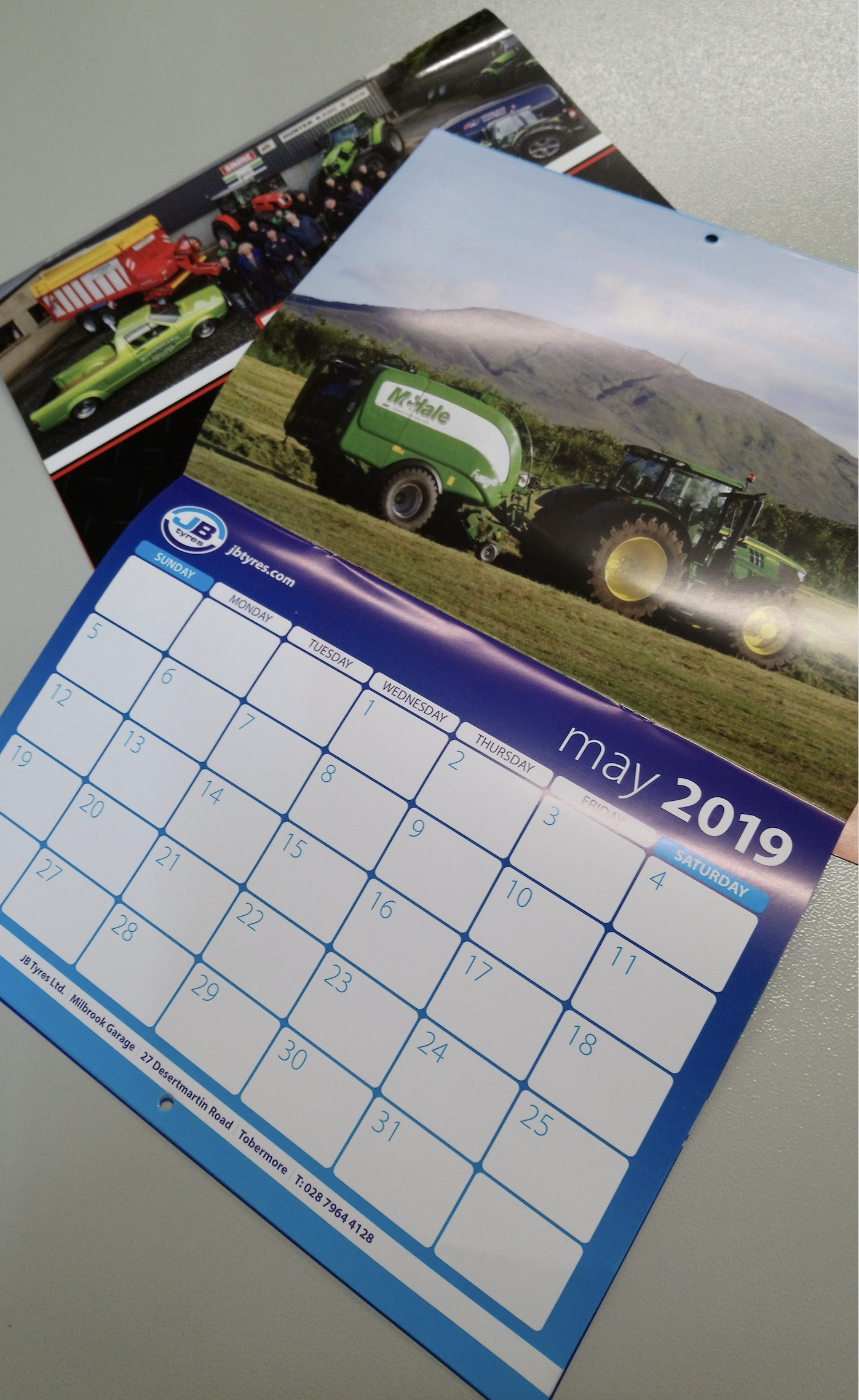Custom Calender Design | Gortreagh Printing | Cookstown | Co Tyrone Calendar Printing Northern Ireland