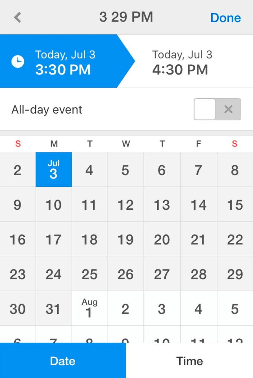 Designing The Perfect Date And Time Picker — Smashing Magazine Month Calendar Get Selected Date C