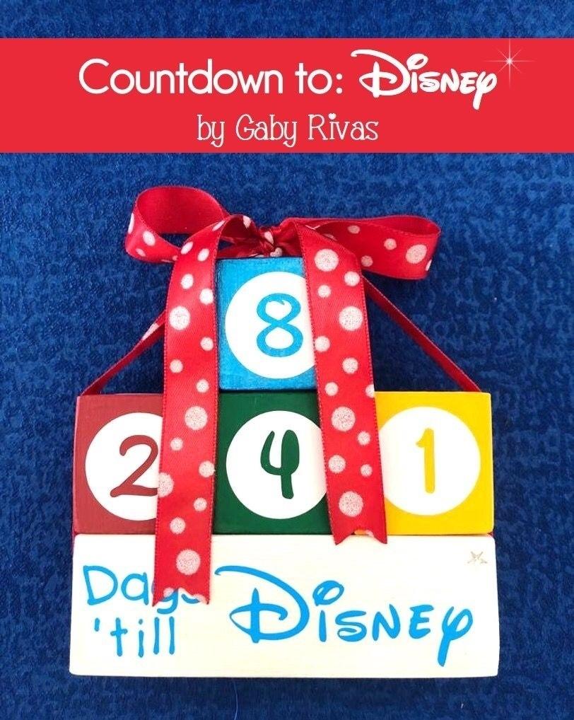Disney Countdown Calendar Blocks • Printable Blank Calendar Template Disney Countdown Calendar App