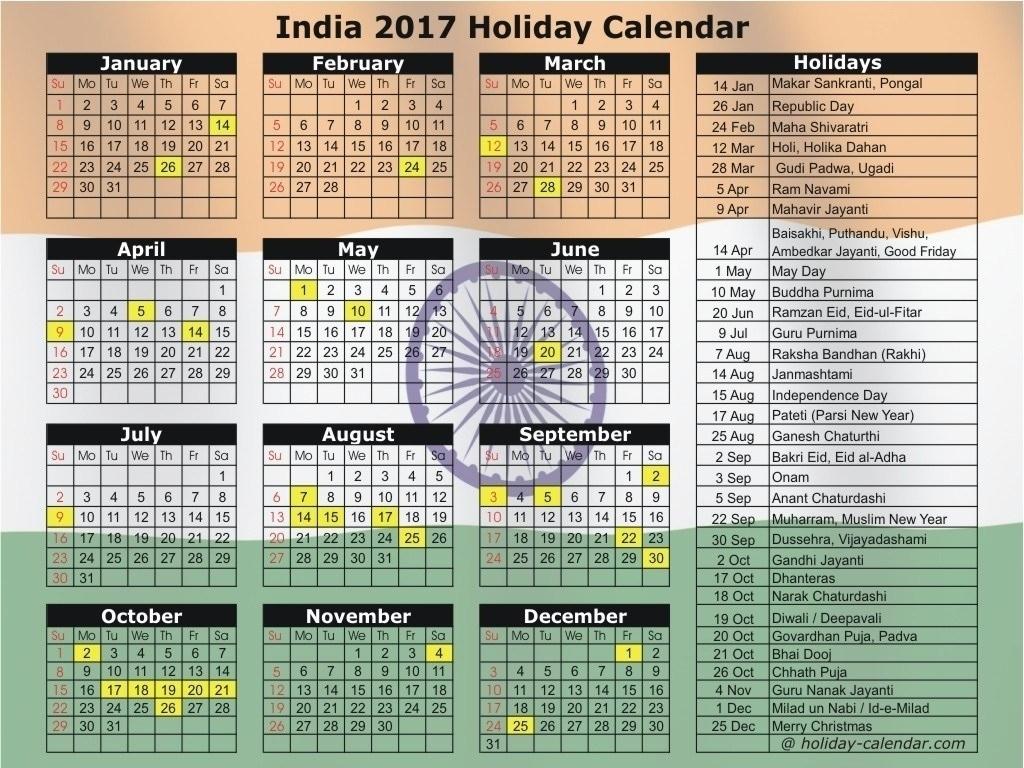 Extraordinary 2020 Calendar With Indian Holidays • Printable Blank 2020 Calendar India Holidays
