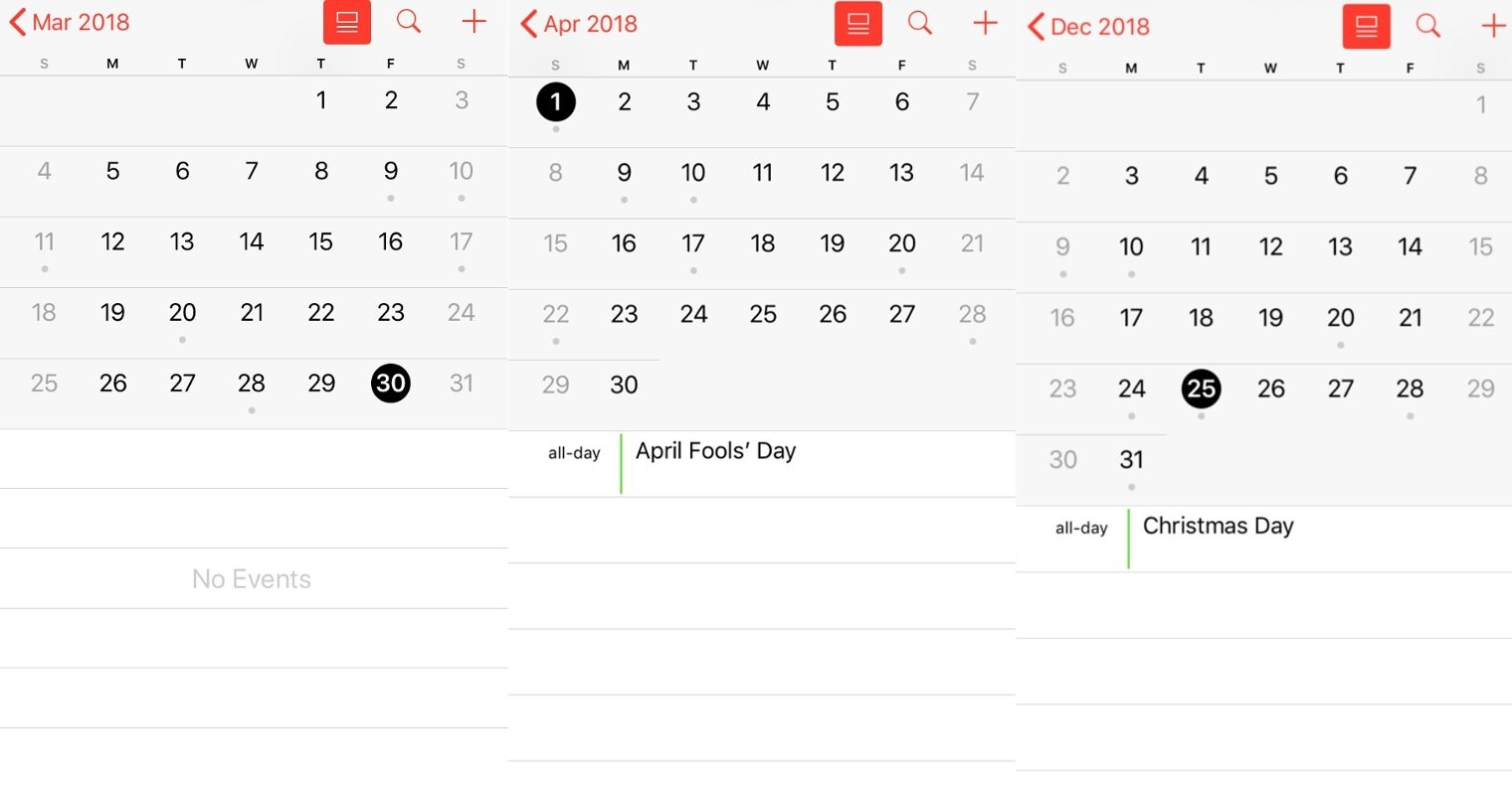 Fact Check: Did Apple Remove Easter From Its Calendar Apps? Apple Calendar Us Holidays