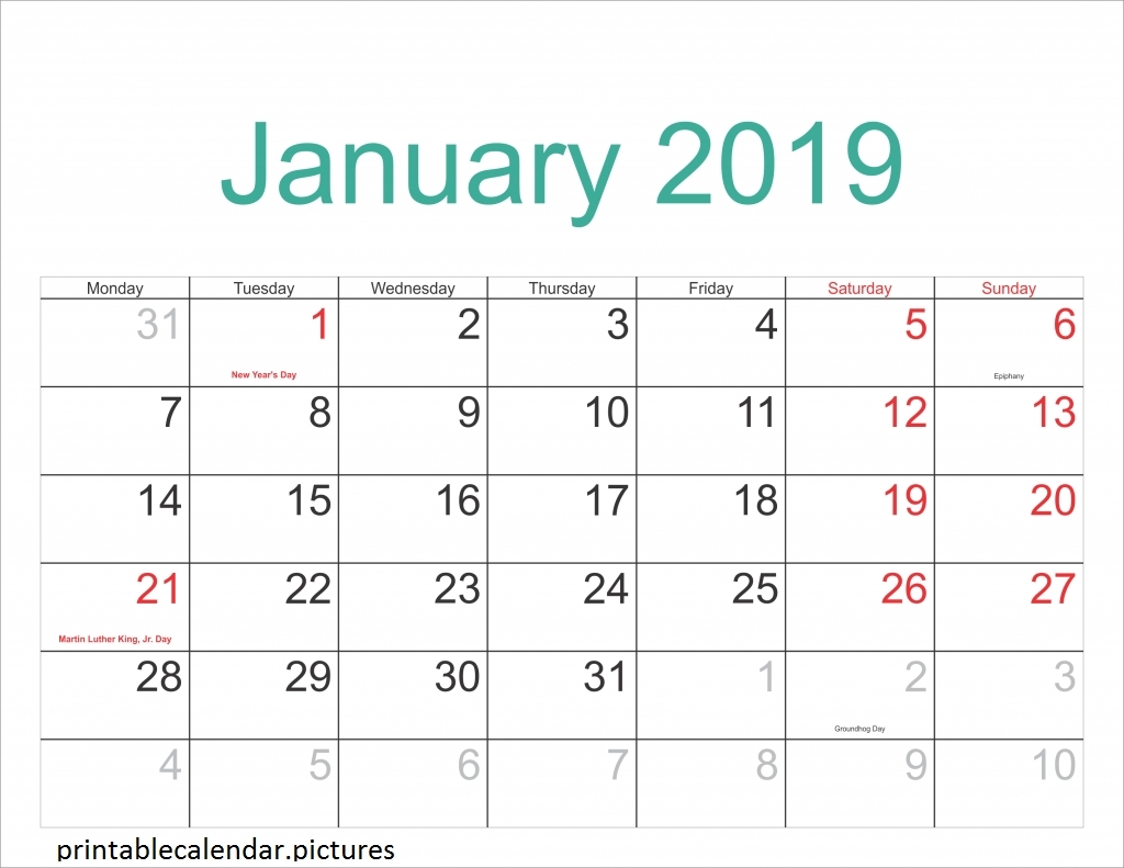 February 2019 – Get Your Calendar Printable Impressive 2020 Academic Calendar Griffith