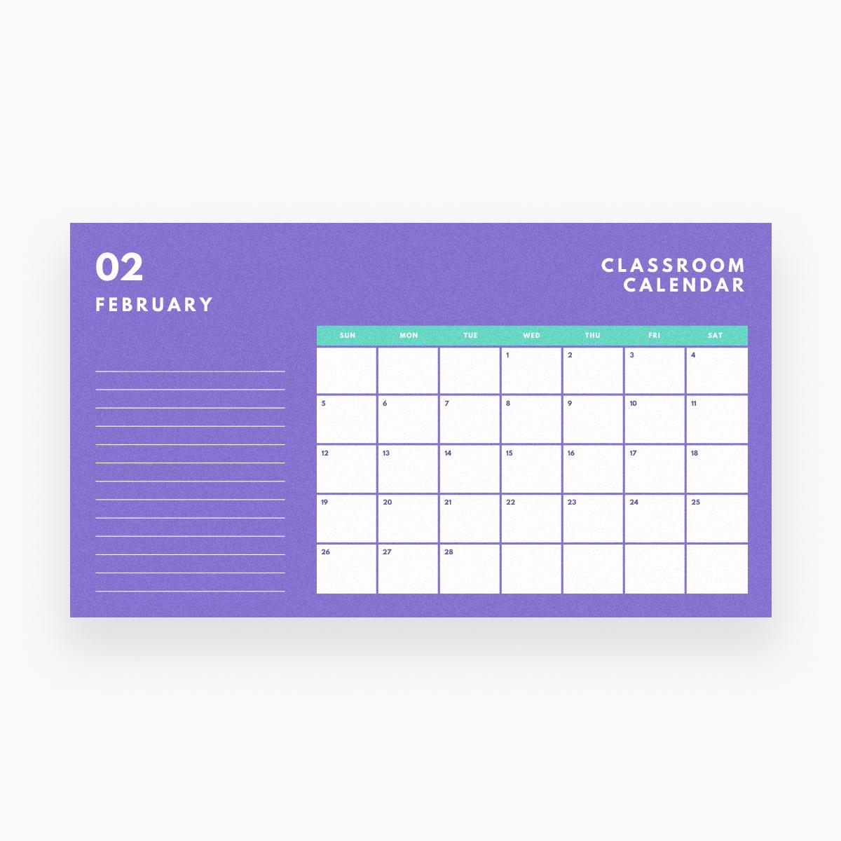 Free Online Calendar Maker: Design A Custom Calendar - Canva Calendar Template Add Your Own Photos