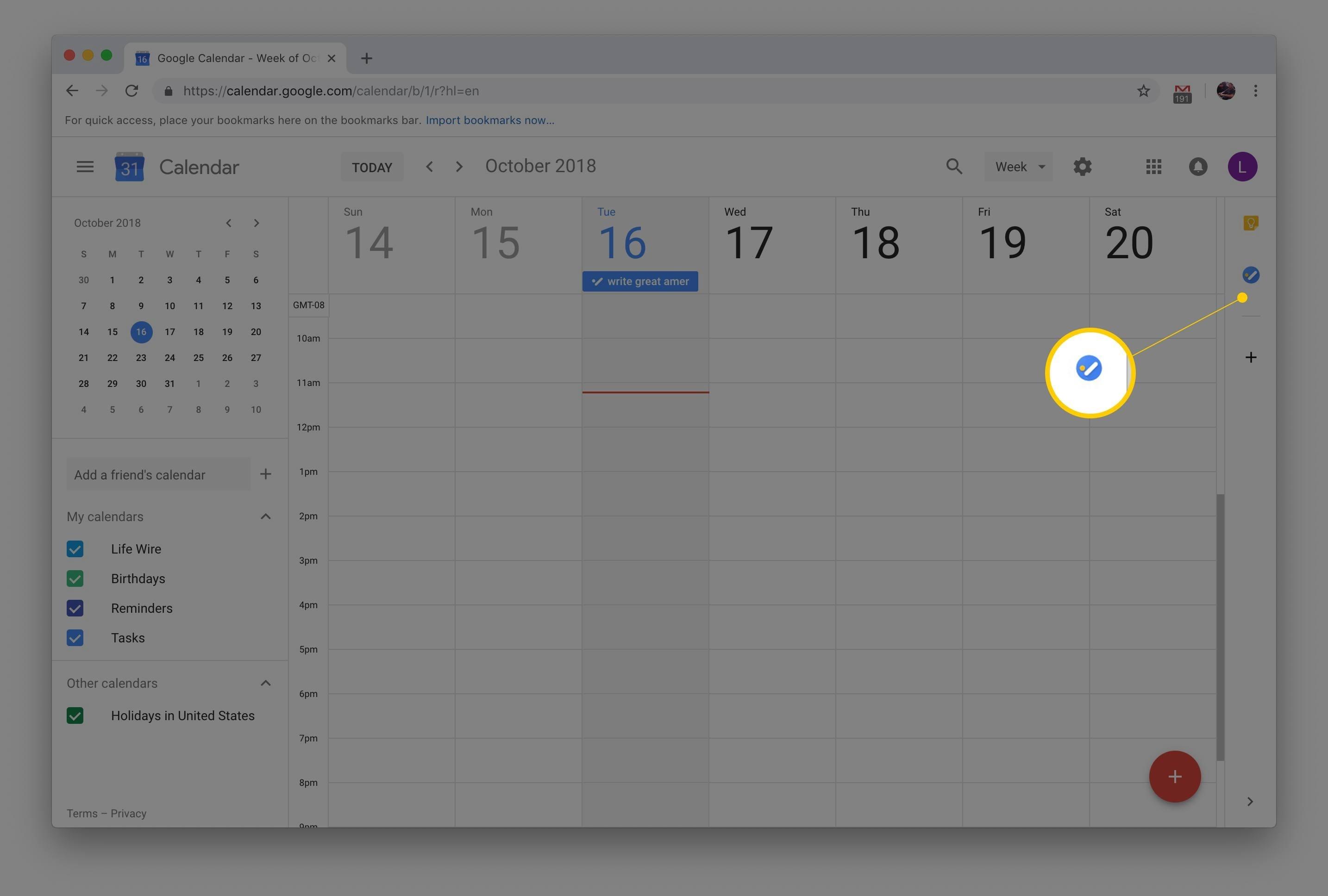 How To Add Tasks To Google Calendar Calendar And Countdown Chrome