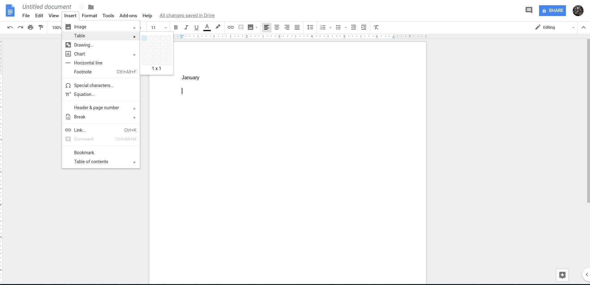 How To Create A Calendar In Google Docs - Calendar Calendar Template On Google Drive
