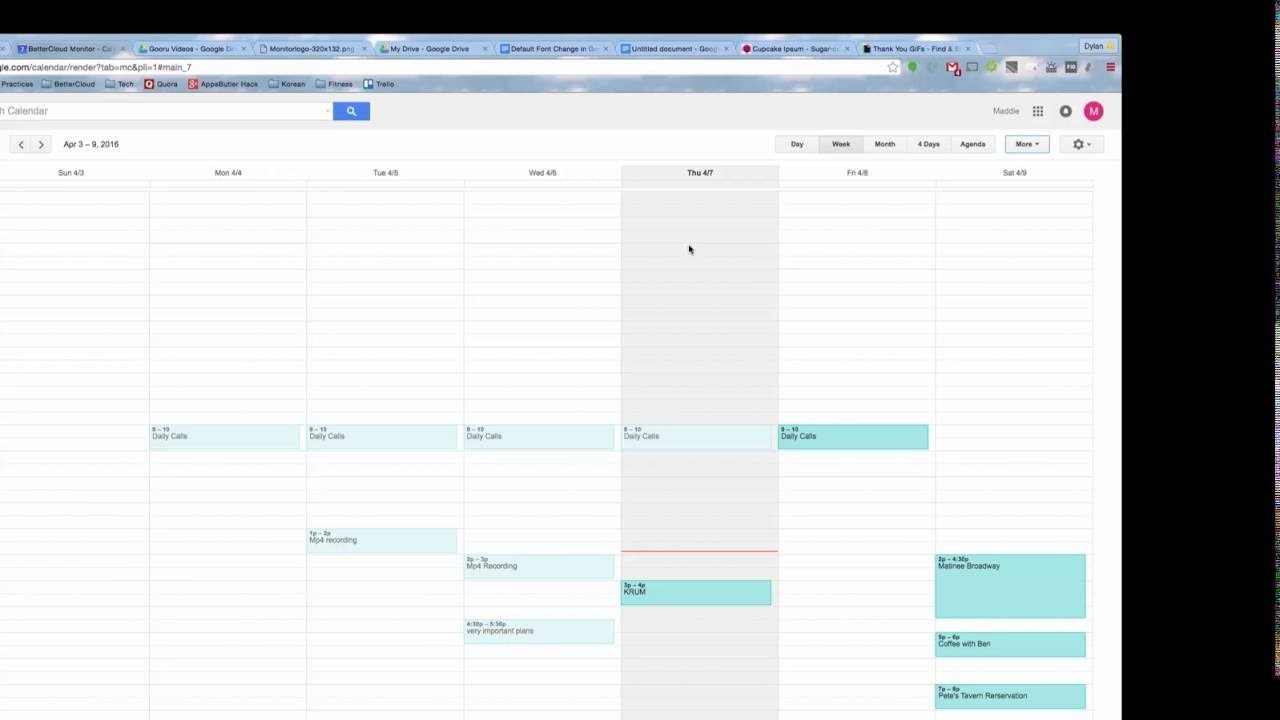How To Print Your Google Calendar - Youtube Printing Calendar From Office 365