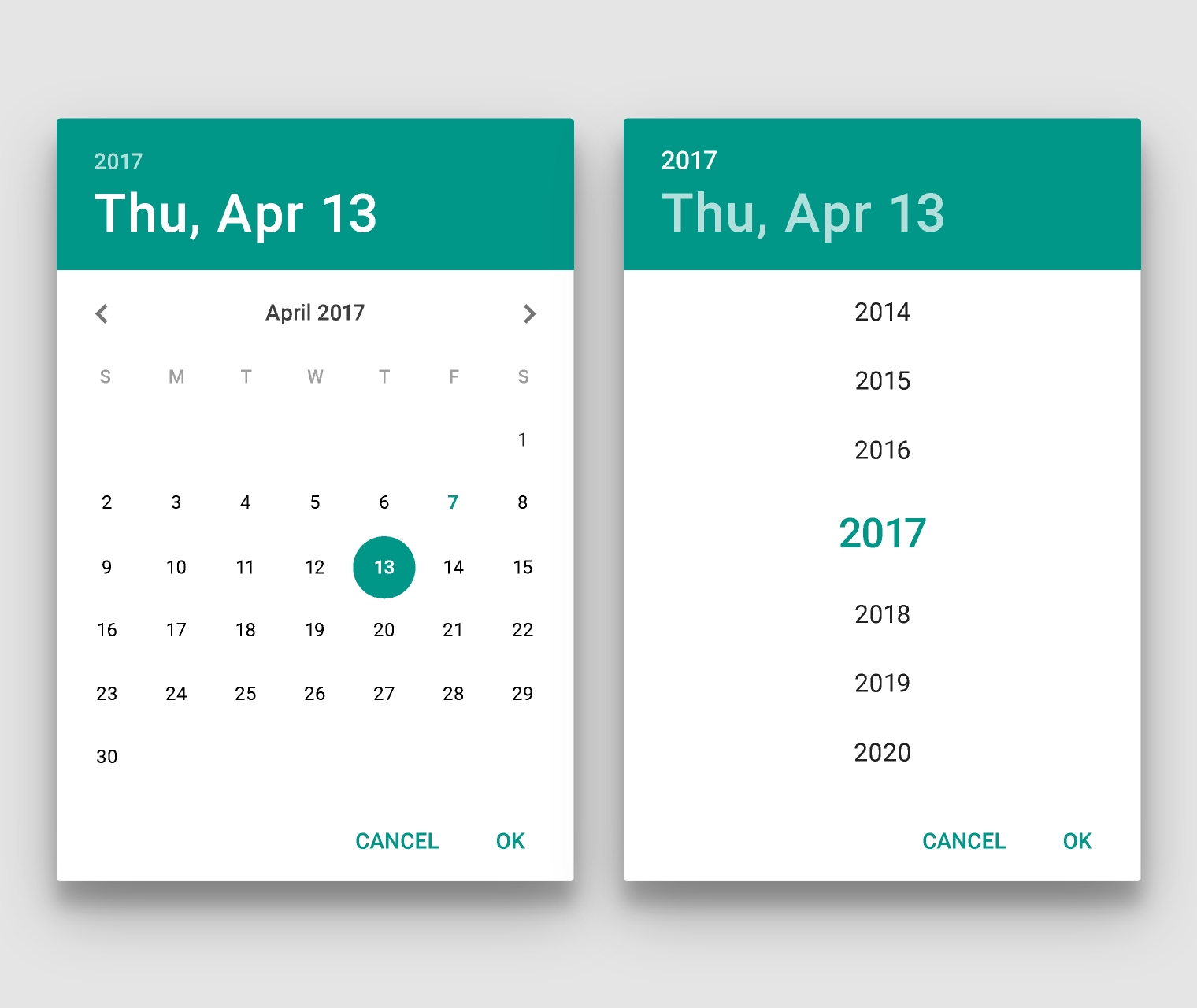 How To Set Default Display As Year Wise In Android Dialog Datepicker Month Calendar Get Selected Date C
