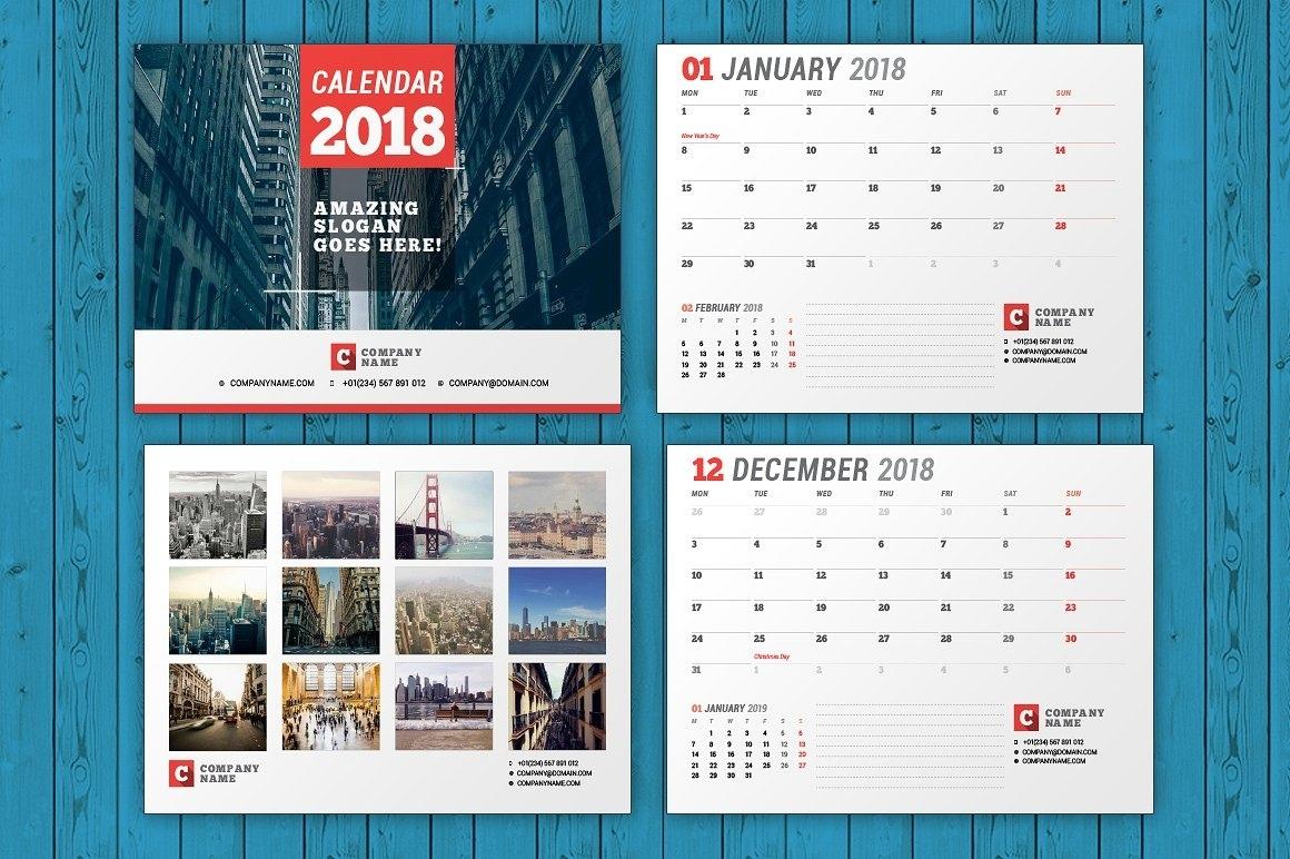 Indesign Calendar Template - Hashtag Bg Free Calendar Template Indesign