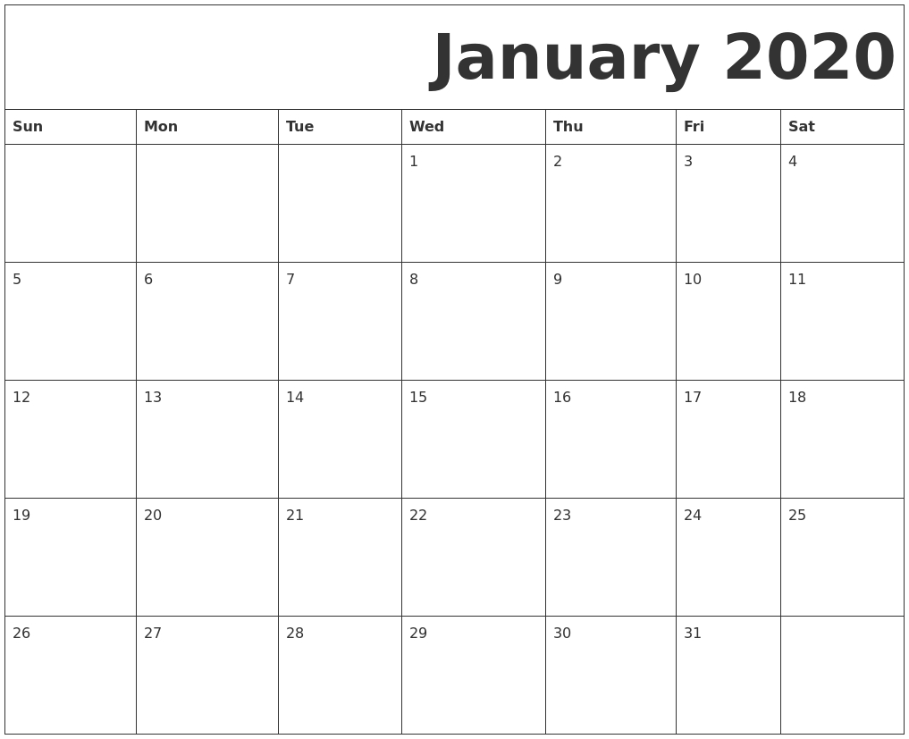 January 2020 Calendar | Thegioithamdep Tamil Calendar 2020 January