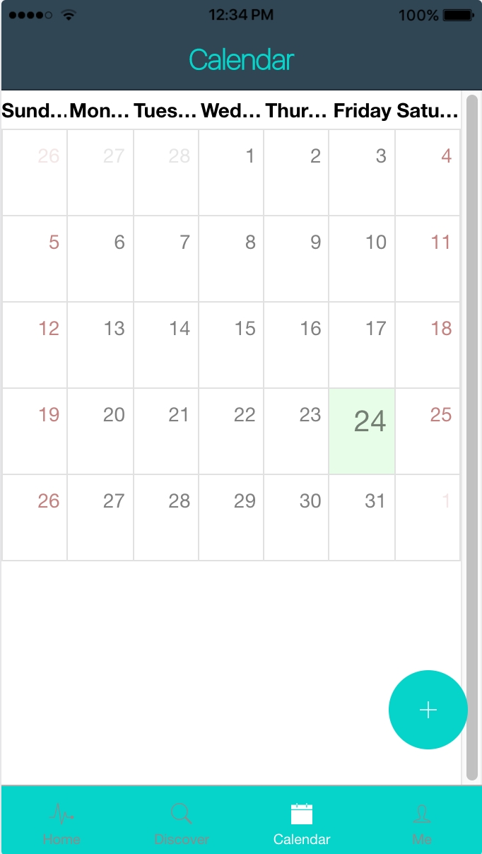 Making A Calendar With Ionic2 - Thielcole Angular 2 Calendar Template