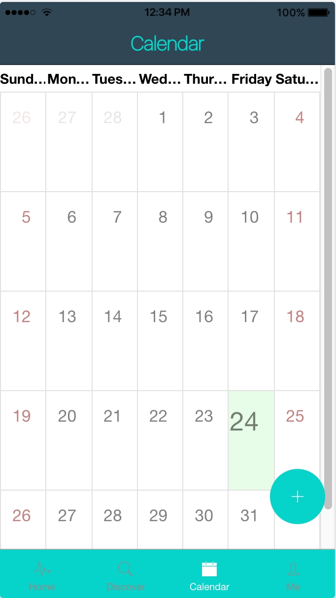 Making A Calendar With Ionic2 - Thielcole Ionic 3 Calendar Template