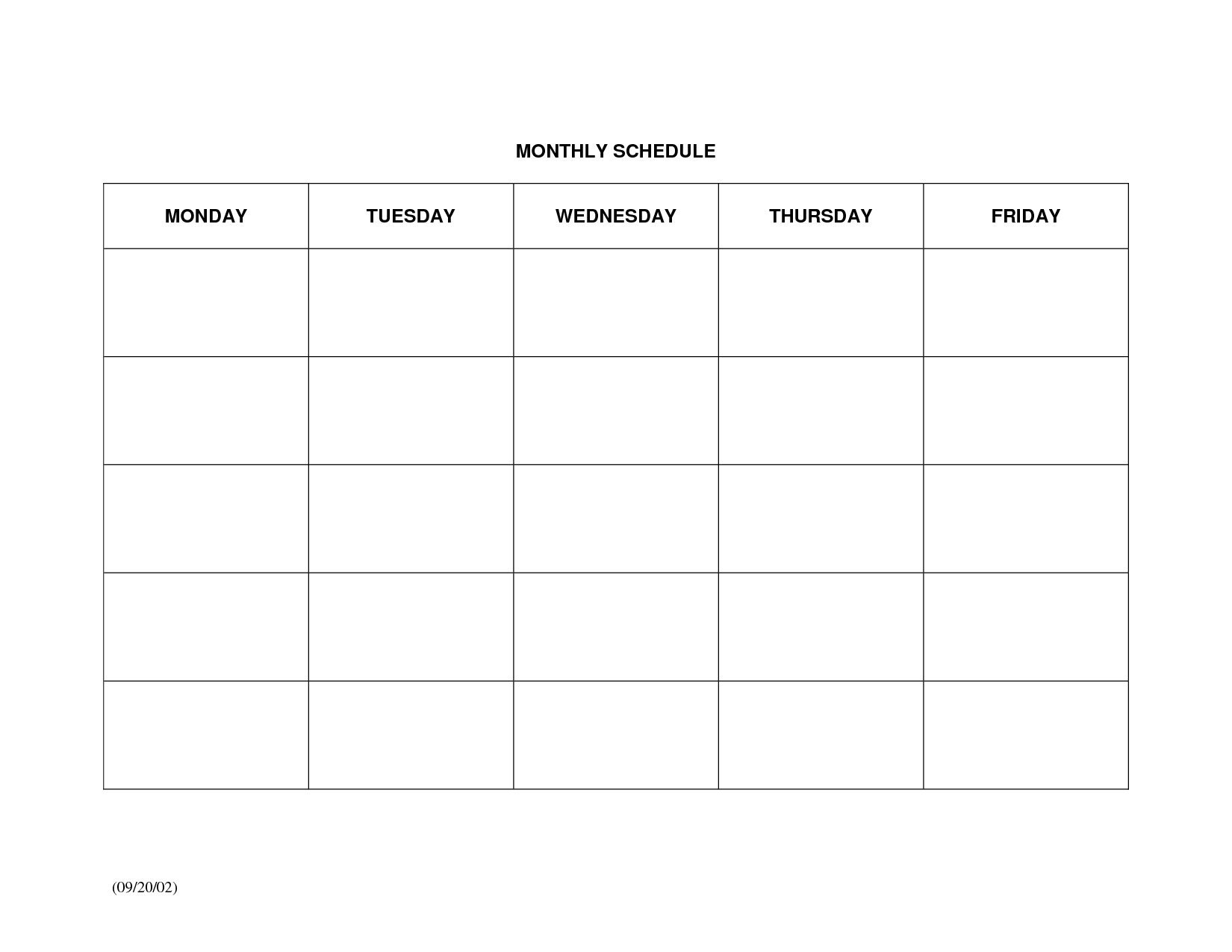Monthly-Schedule-Calendar-Template-Printable-Large Calendar Template Schedule Monthly
