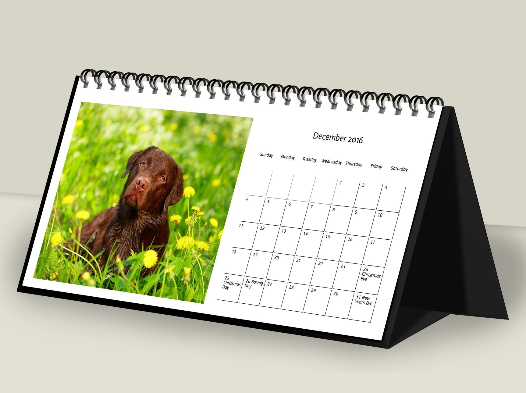 Personalised Desk Calendar - Pixa Prints Ireland Calendar Printing Northern Ireland