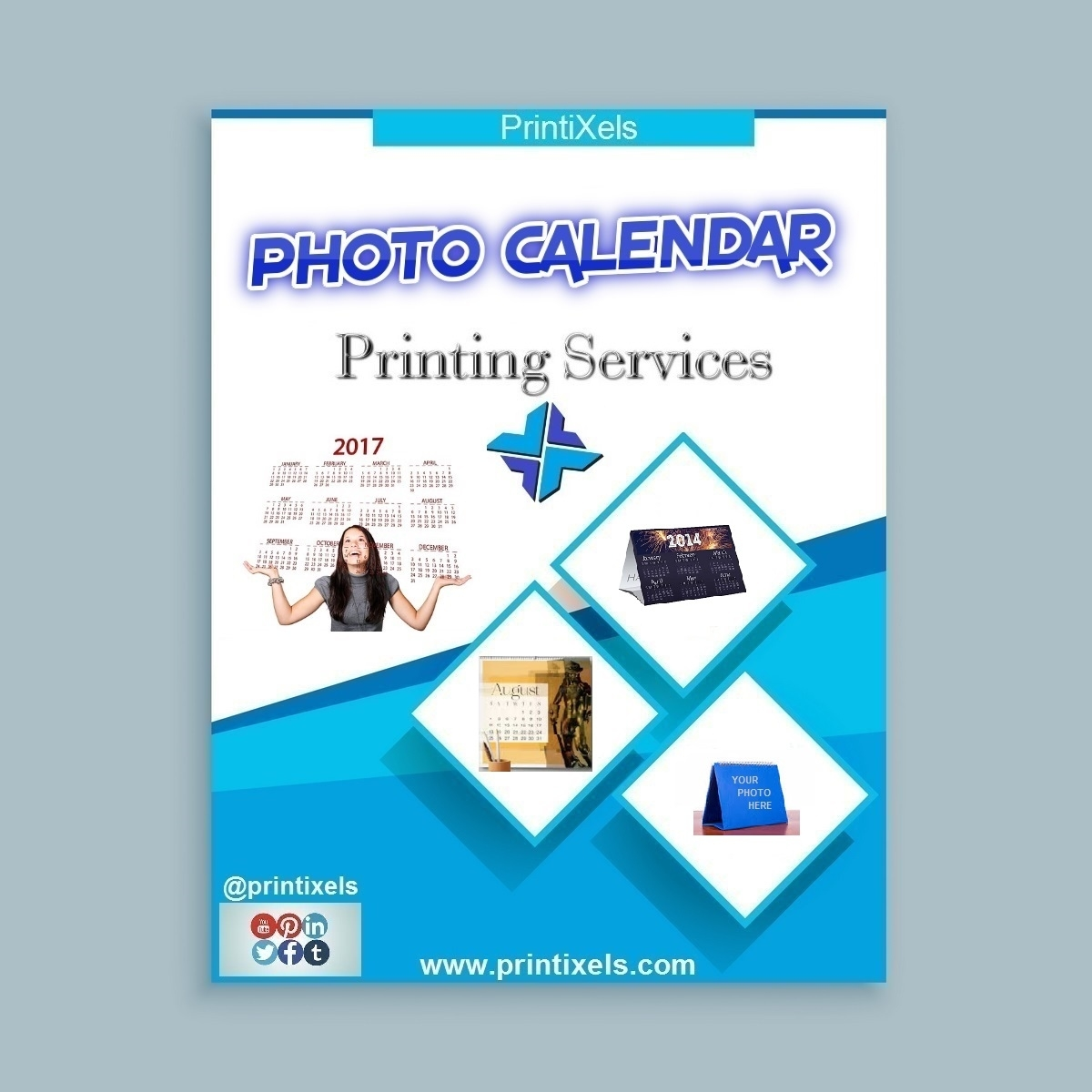 Photo Calendar Printing Services | Printixels™ Philippines The Calendar Printing Company