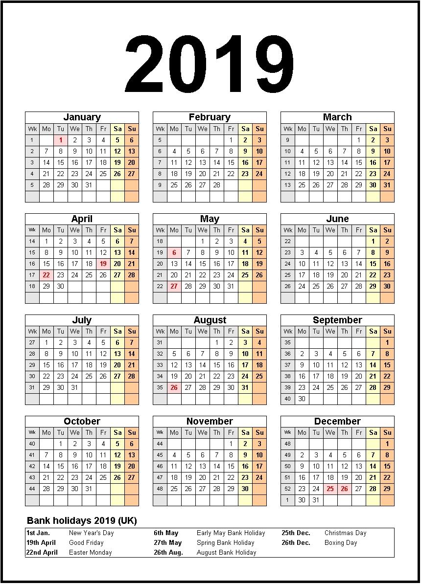 Printable Calendar 2019 United States Holidays | Monthly Calendar 3 Month Calendar With Holidays