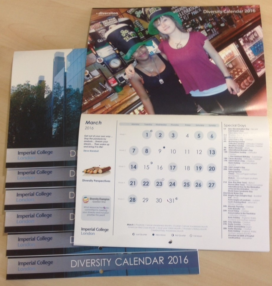 Printed Calendars - Diversiton Calendar Printing Northern Ireland