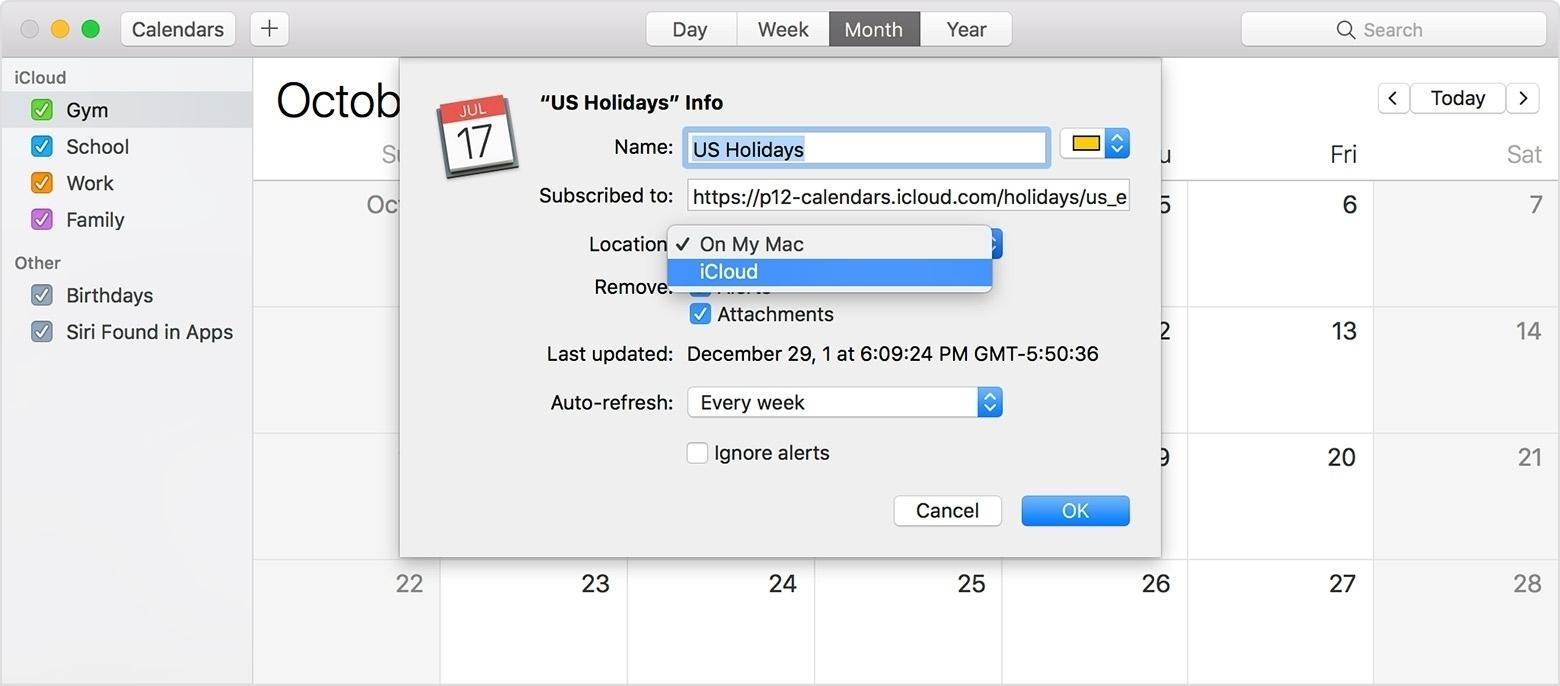 Remove Us Holidays Calendar Iphone • Printable Blank Calendar Template Apple Calendar Us Holidays