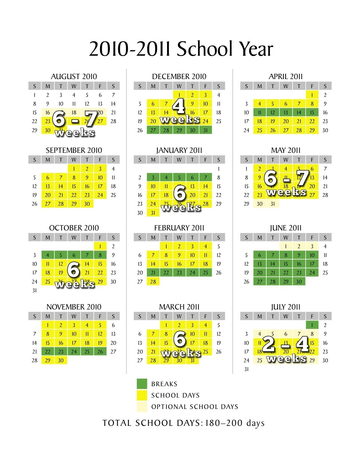 Scheduling A Low-Stress School Calendar   Abcs And 123S   School 9 Week School Calendar