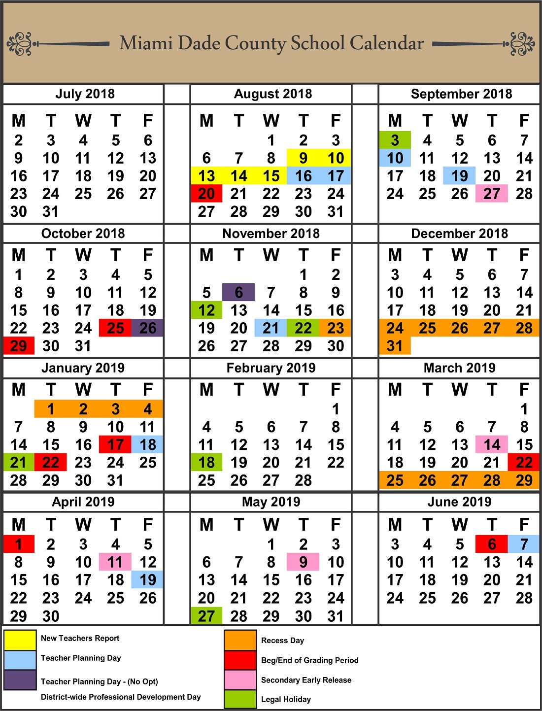 School Calendars 2017 2018 Portrait 20 11 14 Photo Calendar School Calendar Leon County